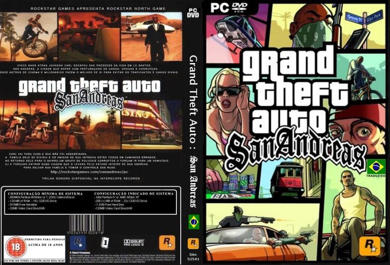 Download: GTA: San Andreas (PC) RIP 657MB