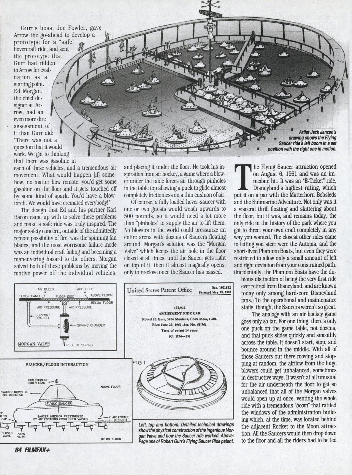 Vintage Disneyland Tickets: FilmFax Plus Magazine - December