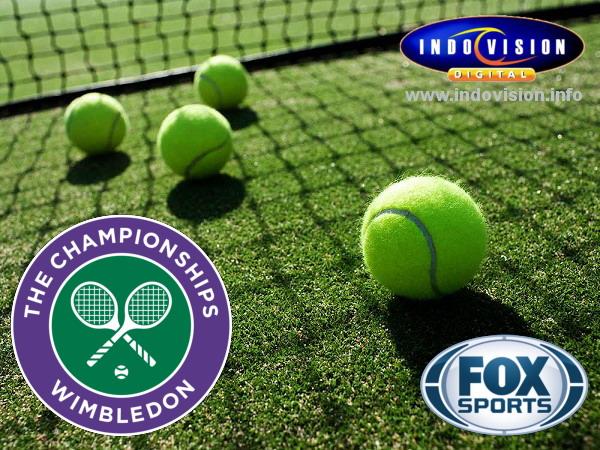 Jadwal tayang turnamen tenis Wimbledon 2016 di Fox Sports.
