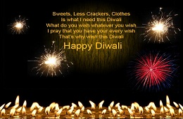 Happy Diwali SMS and Text messages for friends latest: