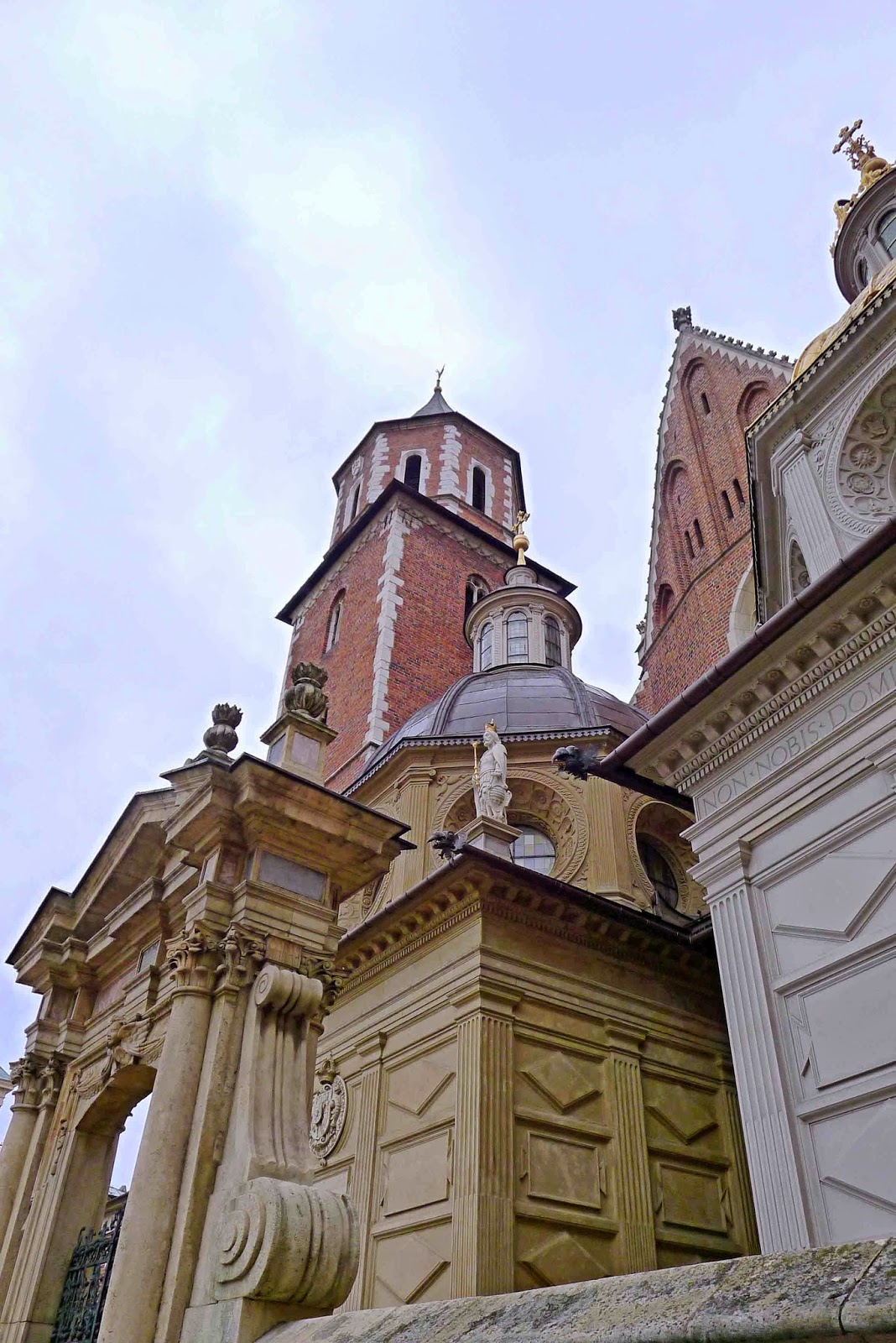 Wawel Cathedral Exteriors