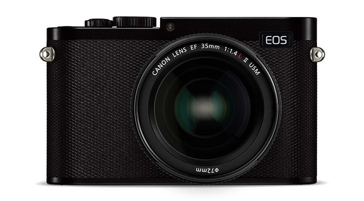 Возможный вид беззеркальной камеры Canon с полнокадровым сенсором