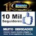 Blog Rosário Notícias agradece aos 10 MIL SEGUIDORES no Facebook