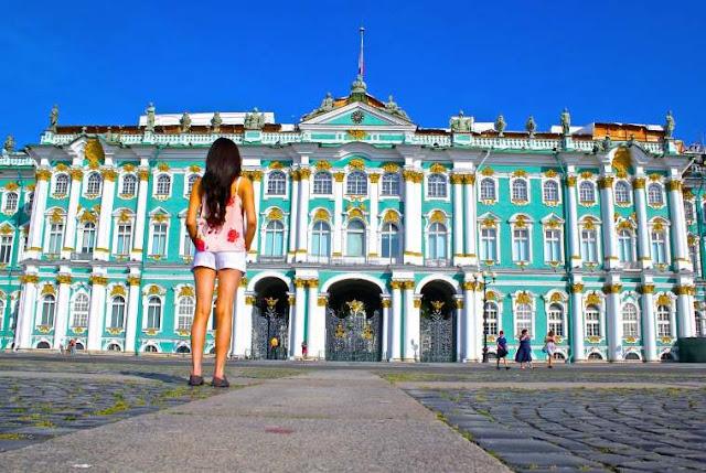 أشهر الأماكن السياحية في روسيا متحف هيرميتاج - hermitage museum