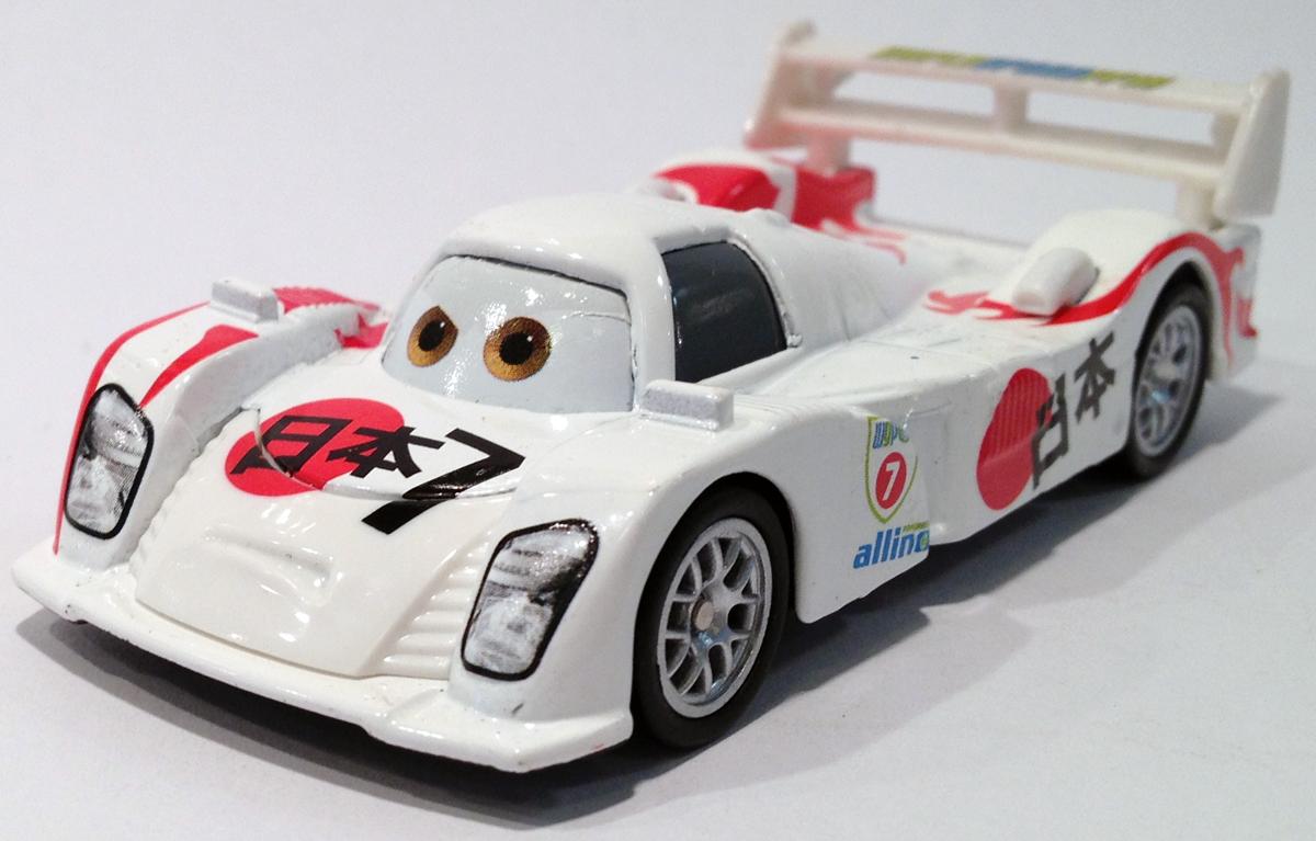 Disney Pixar Cars 2 Shu Todoroki 22 V2796 series Mattel ...