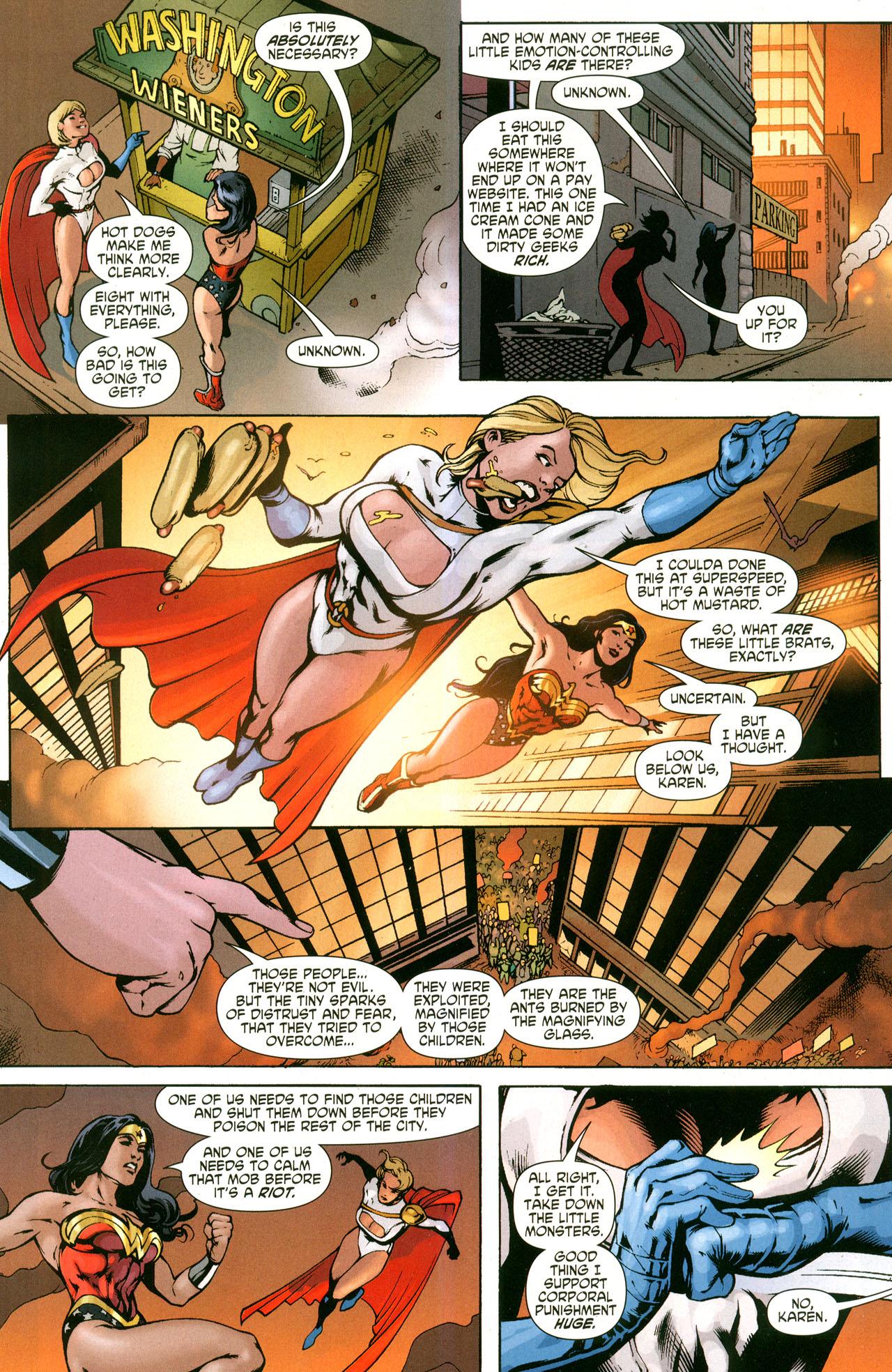 Read online Wonder Woman (2006) comic -  Issue #41 - 17