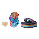 My Little Pony Blind Bags Beach Day Rainbow Dash Pony Cutie Mark Crew Figure