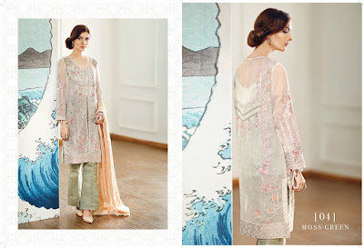 Pakistan Chiffon Embroidered Dresses Suits
