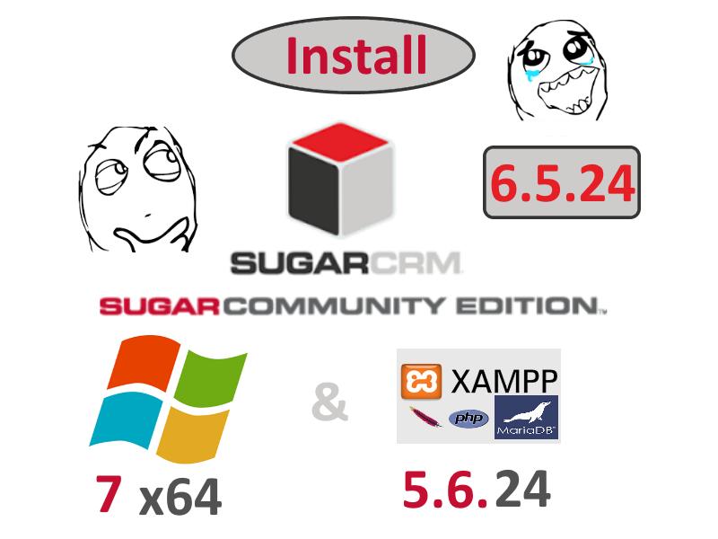 codingtrabla: Install SugarCRM CE 6 5 24 on Windows 7