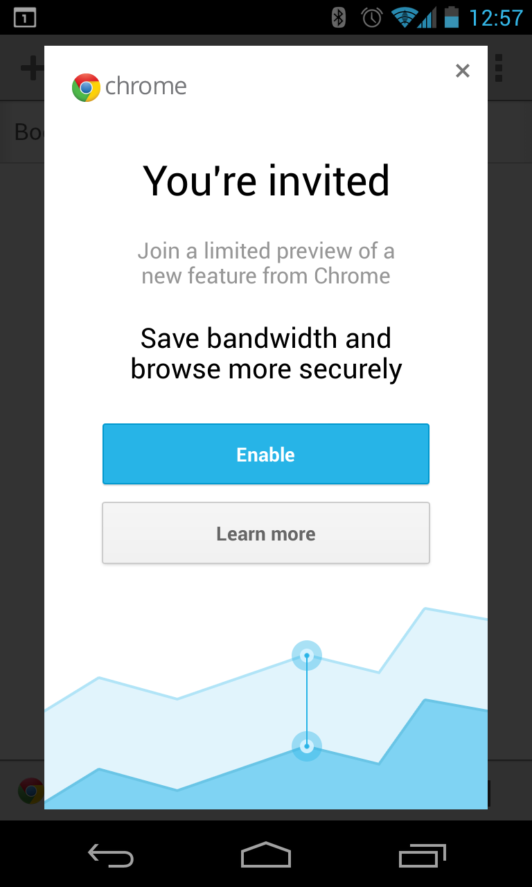 Chrome Beta wants to help you save data ~ Android Coliseum