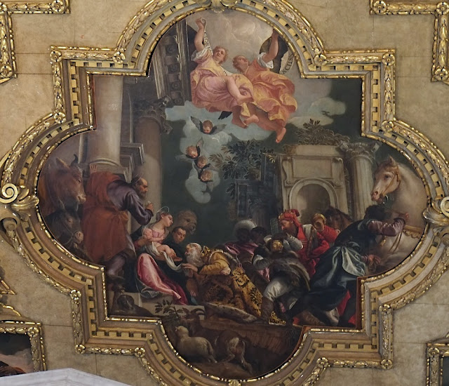Veronese chapel of the rosary 1