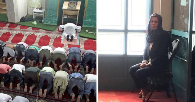Canada's Kathleen Wynne Visits Mosque Preach to Tolerance. Gets Put in a Corner
