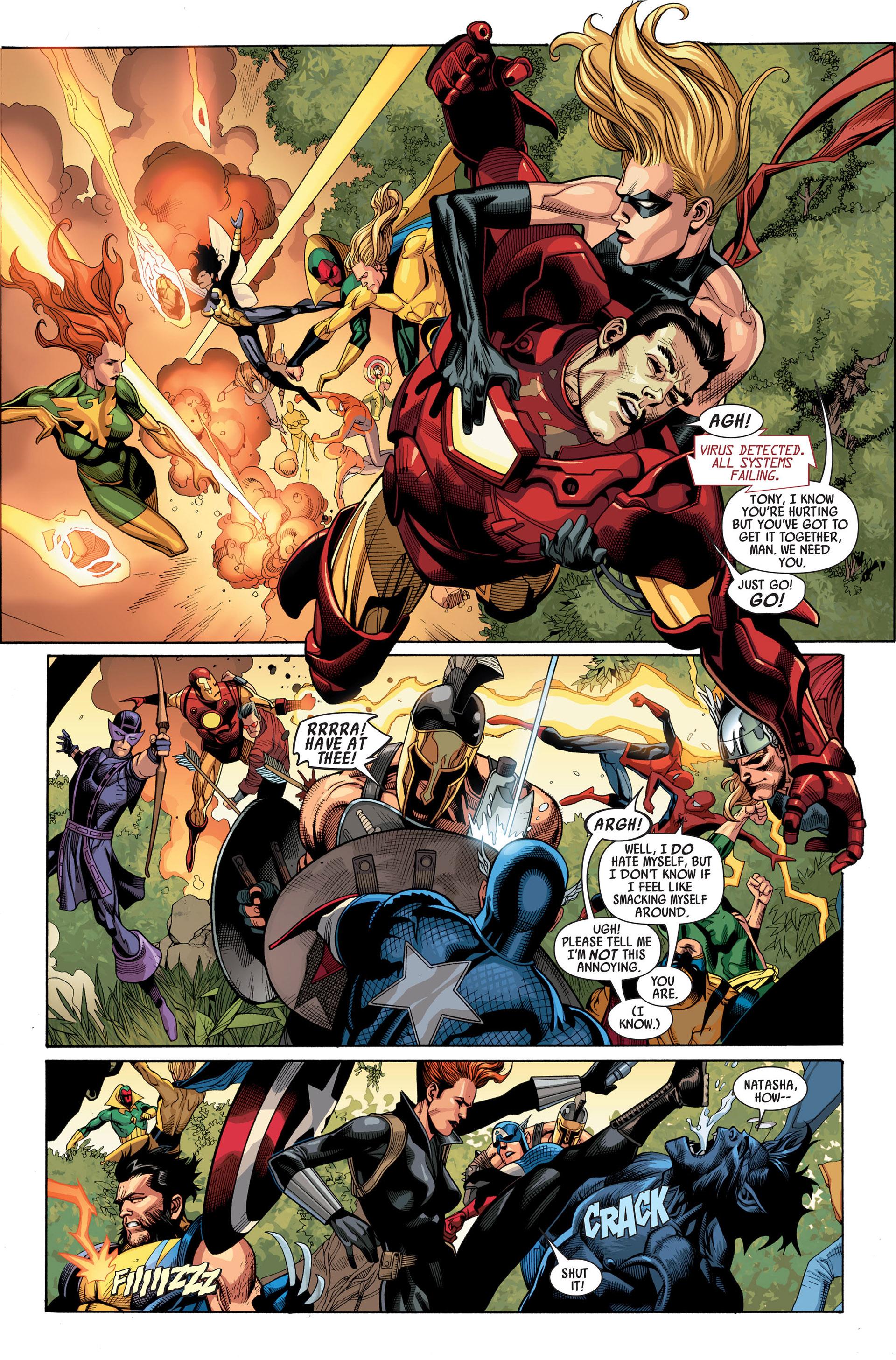 Read online Secret Invasion comic -  Issue #2 - 6