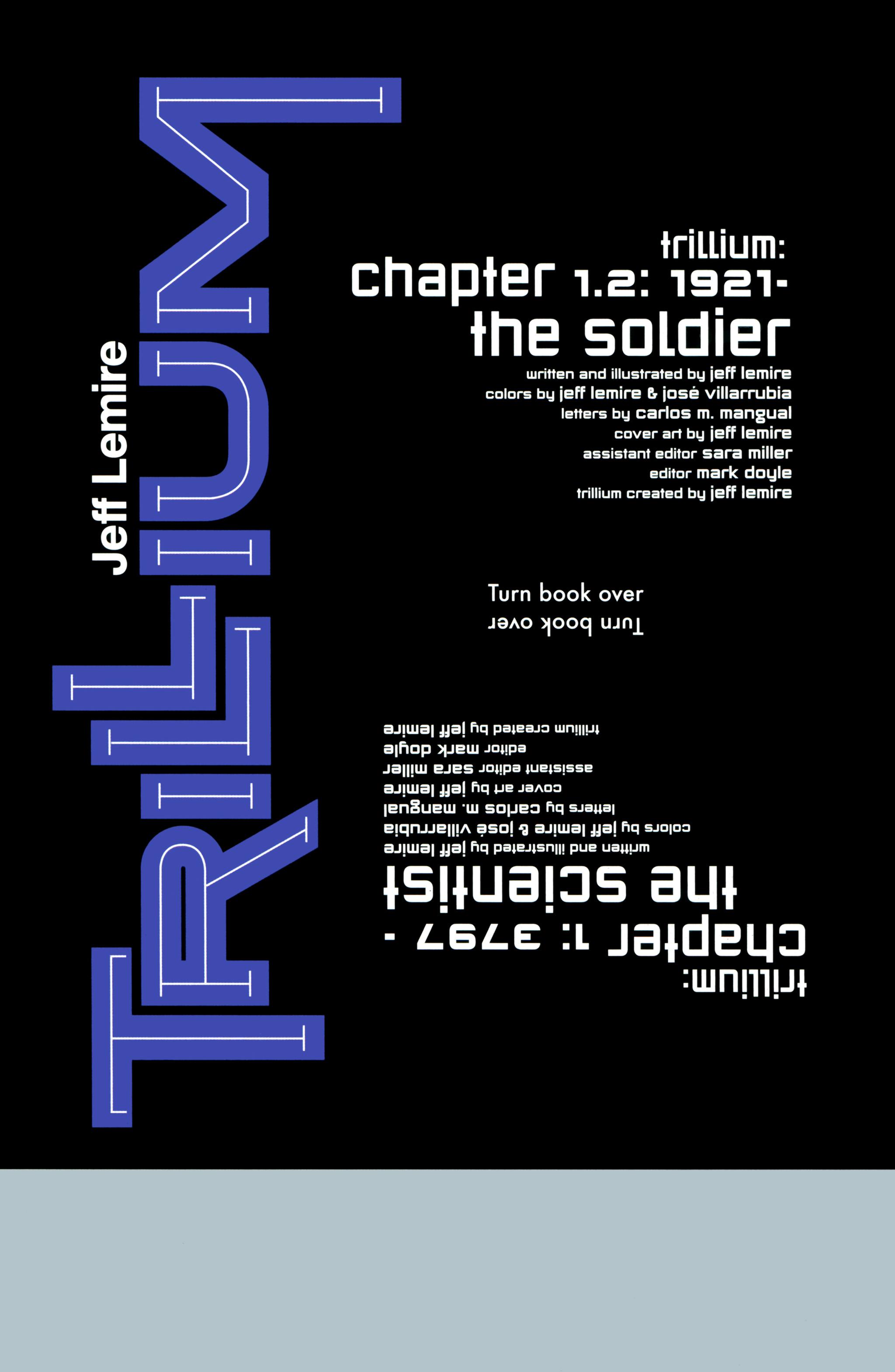 Read online Trillium comic -  Issue #1 - 6
