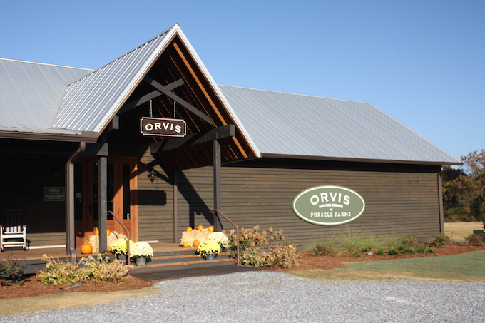Probably Polka Dots Orvis Shooting School At Pursell Farms Not Just For The Boys