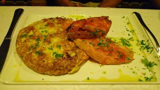 Tortilla de patatas y esparragos