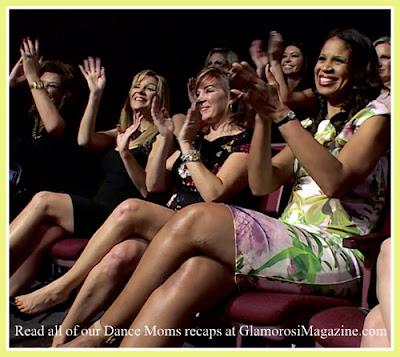 L to R  Abby Lee Miller, Melissa Gisoni, Jill Vertes, Holly Frazier of Dance Moms