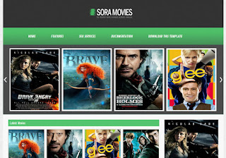Sora Movies Blogger Template