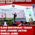 6.000 Sertipikat Tanah Dari Jokowi Untuk Warga JAMBI