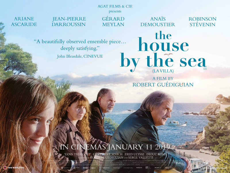 the house by the sea poster