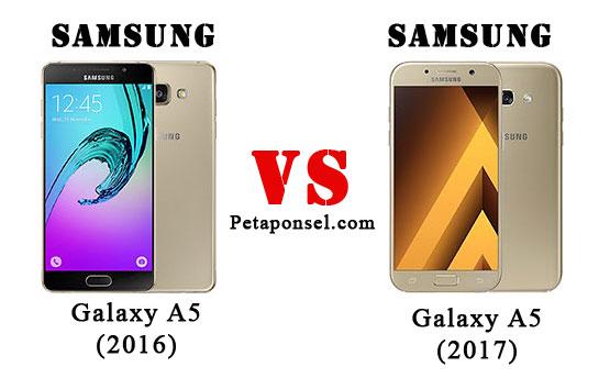 Perbandingan Samsung A5 (2017) dan A5 (2016)