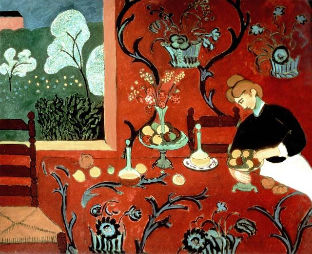 Henri Matisse Kırmızı Harmonisi