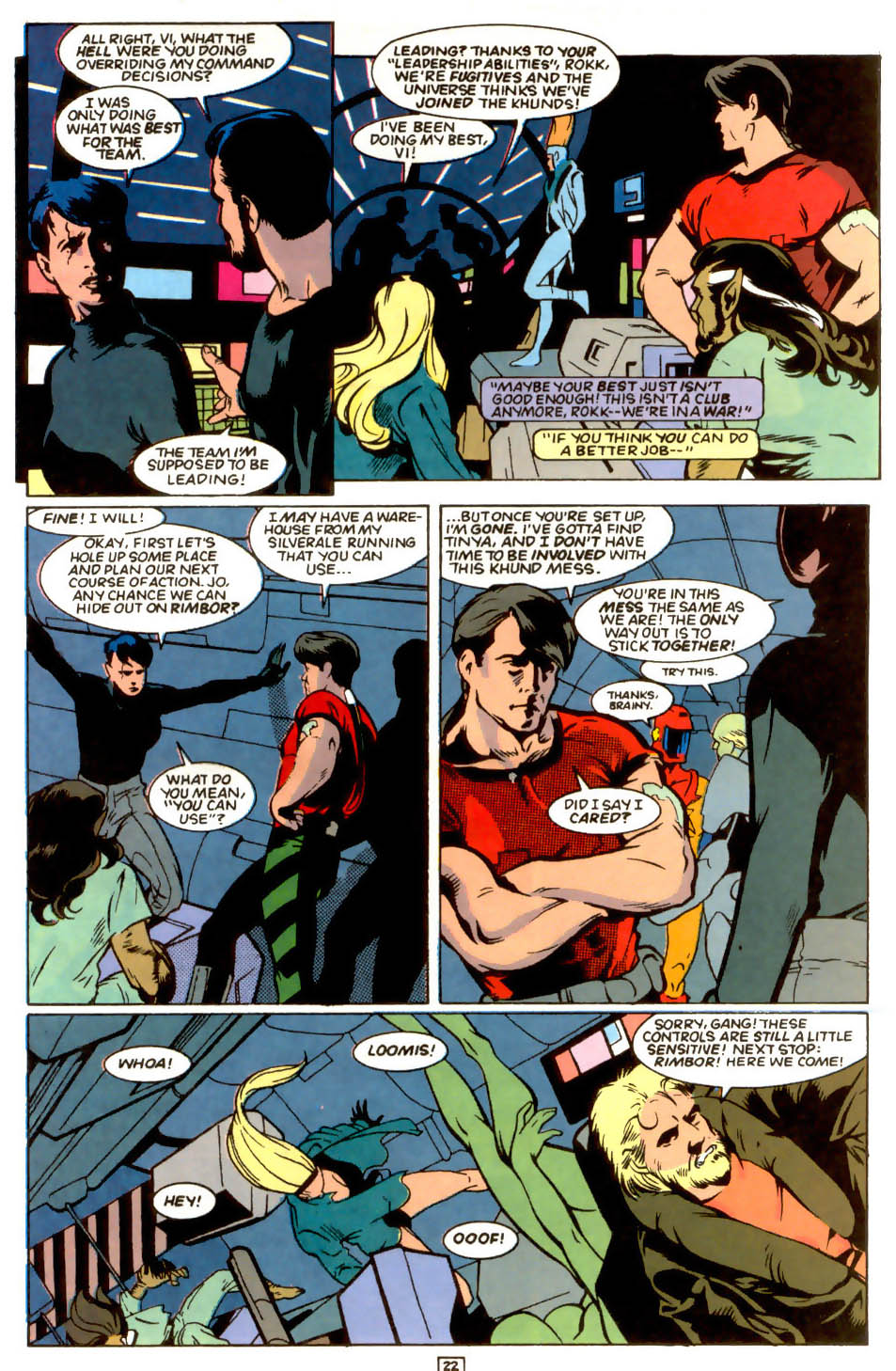 Legion of Super-Heroes (1989) 54 Page 20