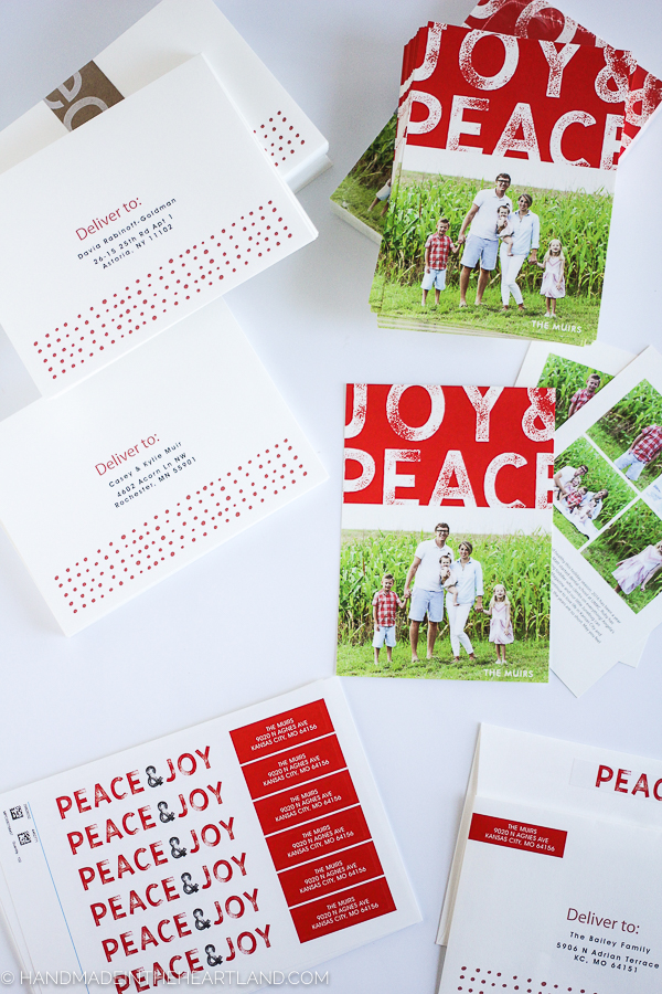Minted.com Christmas cards that are beautiful