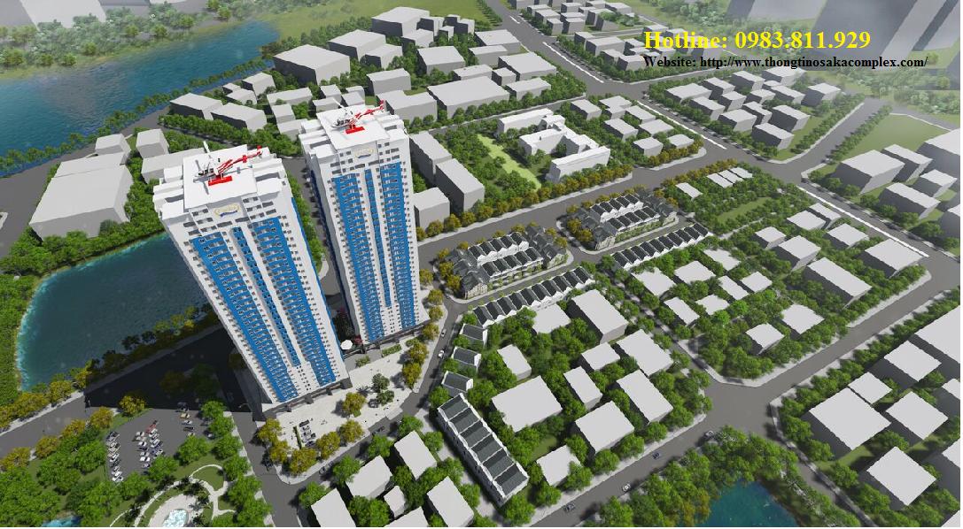 Chung cư Osaka complex bộ công an chỉ từ 1,1 tỷ