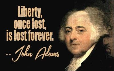 Adams, libertà persa