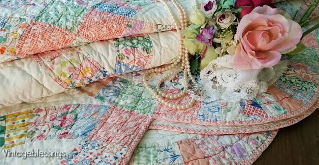 vintage quilt, antique quilt, wedding, bridal