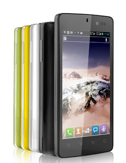 K-Touch Lotus II Harga Spesifikasi, Android Jelly Bean Layar Sentuh 4,5 Inci Plus CPU Quad-core 1.2GHz