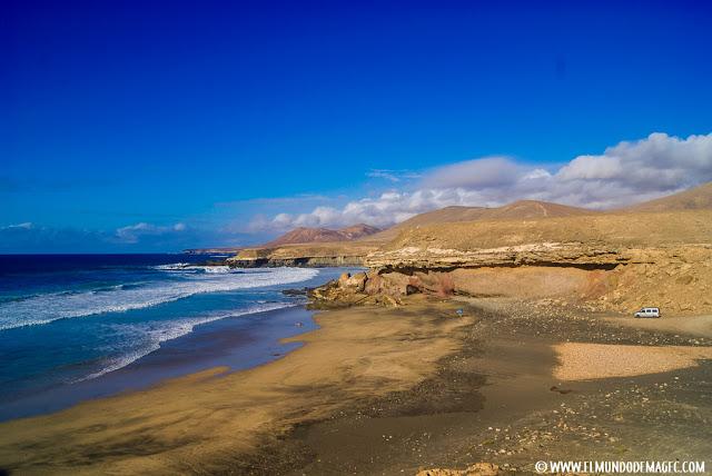 Costa oeste de Fuerteventura