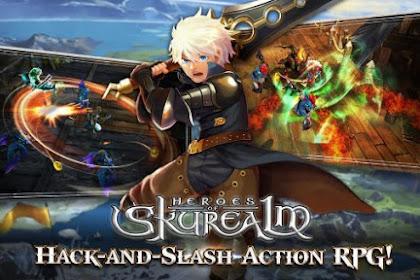 Download Heroes of Skyrealm Apk v1.1.0 Mod (High Damage) Update Terbaru 2017