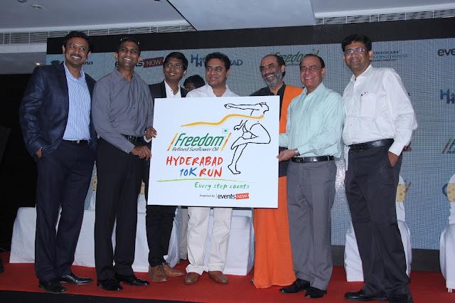 Left To Right - Mr Raj Pakala_Dr Murli Nannapanni_Dr Rohit Morlawar_Mr K.T Rama Rao_Mr Suresh Babu_Mr Pradeep Chaudhary_Mr Chandra Sekhar Reddy