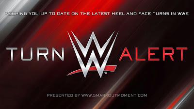 WWE poster heel face turn alert logo