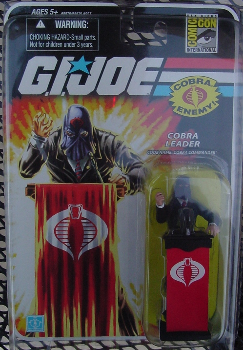 2008 San Diego Comic Con Exclusive Hooded Cobra Commander, Convention