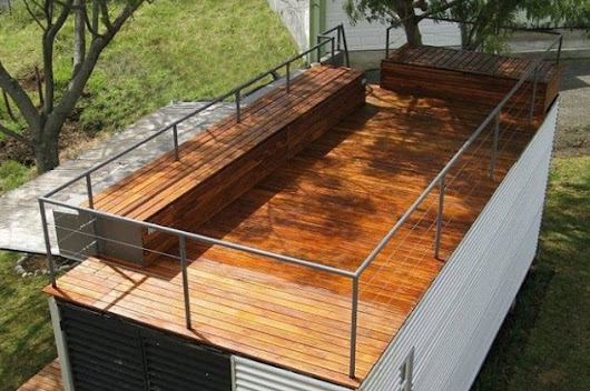 20' with deck on top