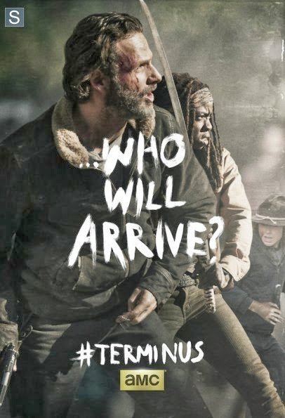 "Poster de Rick para el final de la cuarta temporada  ""The Walking Dead"""
