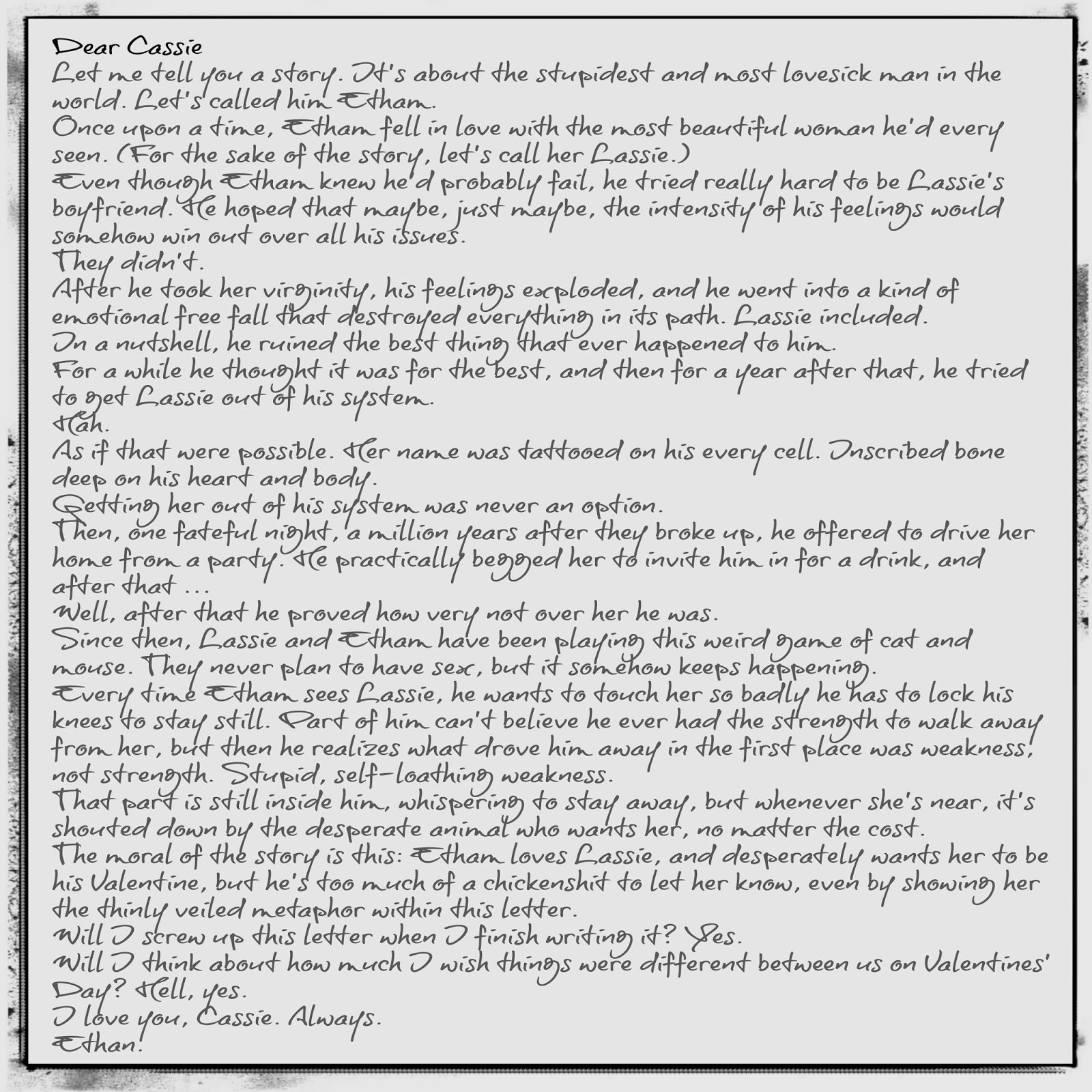 Love Letters For Him Gallery Letter Samples Format