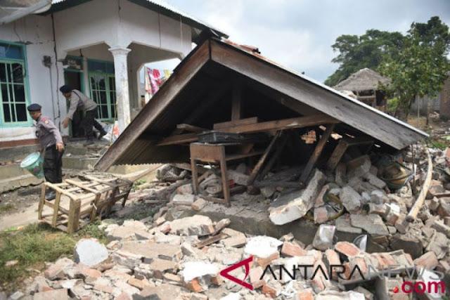 Lombok diguncang gempa lagi, kini 7.0 skala Richter