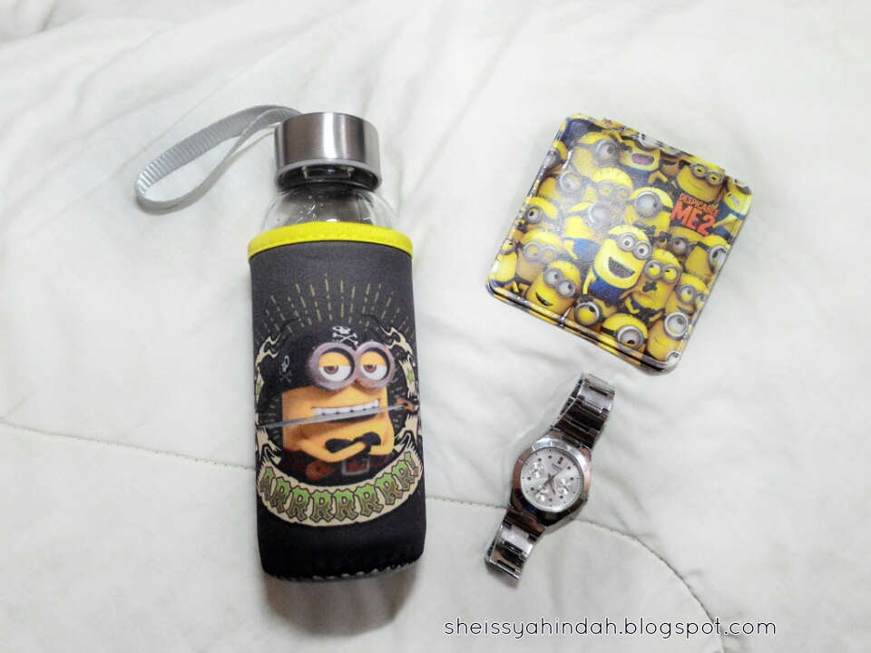 minion bottle water for beauty