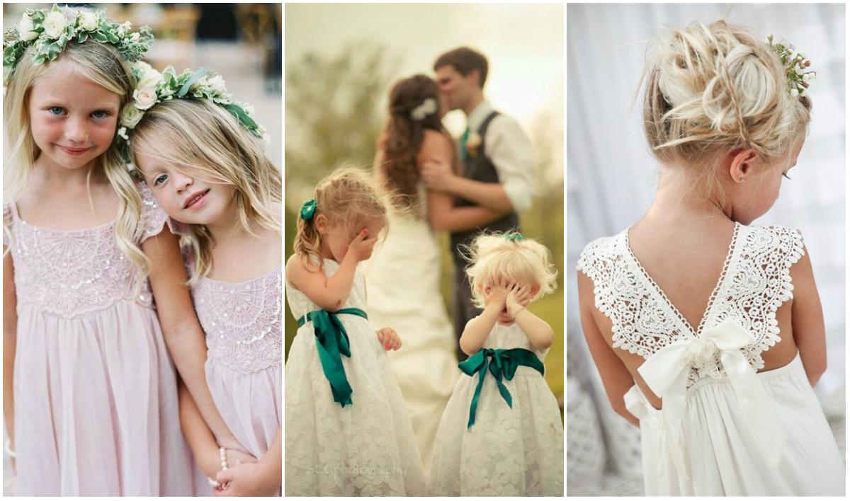 5b6908ffef Ślub - Jak Ubrać Dziecko - Dziewczynki Inspiracje