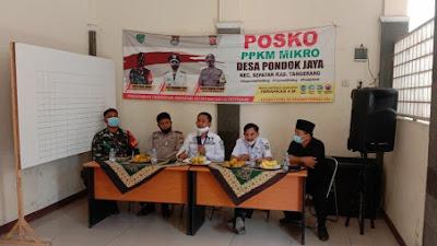 Penanganan Pedagang Bahu Jalan dan Sampah, Tiga Pilar Kecamatan Sepatan Laksanakan Rapat Koordinasi