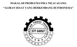Contoh Makalah Problematika Nilai Agama Tentang Aliran Sesat di Indonesia