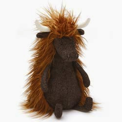 Jellycat Tweedledee Highland Cow