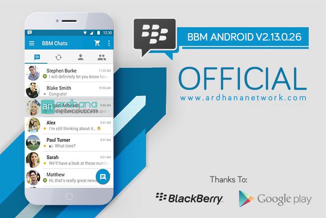 BBM Official V2.13.0.26 - Update Terbaru Tanggal 07 April 2016