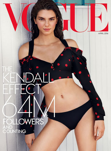 kendall jenner sexy photo shoot vogue magazine cover