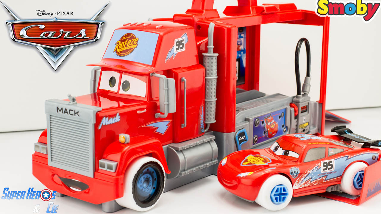 Super h ros et compagnie disney cars camion - Flash mcqueen et mack ...