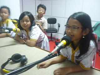 Ruang Studio Audio BPTIKP Jawa Tengah